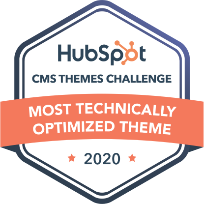 Most Technically Optimized Theme HubSpot